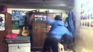 Taekwondo Combo Kicks (Turning Kick + 360 Turning Kick + Spinning Heel Kick)
