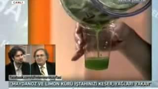 Maydanoz Limon Kürü İbrahim Saraçoğlu Yağ Yakıcı Bitkisel Zayıflama Kürü