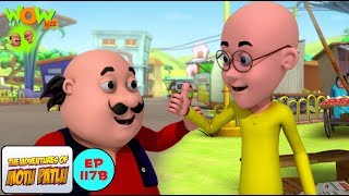 Bahaduri Puraskar - Motu Patlu in Hindi - 3D Animation Cartoon for Kids -As seen on Nickelodeon
