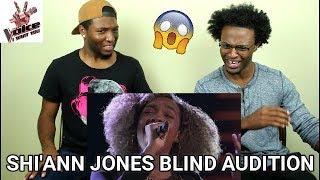 The Voice 2017 Blind Audition - Shi'Ann Jones: