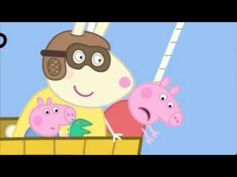 Peppa Pig en Paseo en Globo Español Latino Papá y Mamá Cerditos