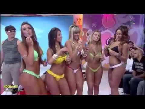 Corpo de Panicats Surpreende. BUMBUM BRASILEIRO com as Panicats