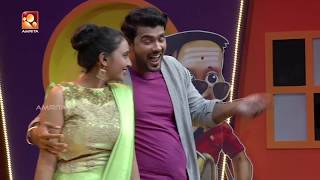 VIVEK & LEKSHMI  | Immini Balyoru Fan | ഇമ്മിണി ബല്ല്യോരു  fan | #AmritaTV