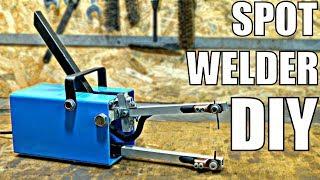 CHEAP Spot Welder DIY (using simple tools) [PLANS]