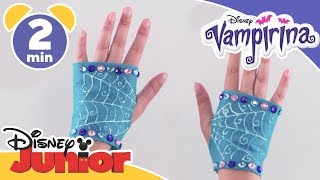 Vampirina | Halloween Craft Tutorial: Vampirina's Gloves | Disney Junior UK