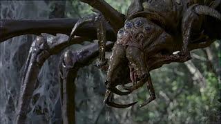 Arachnid (2001): Web and Death Scene (English subtitles)