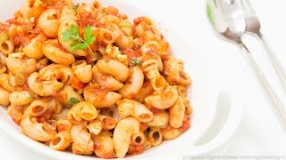 Indian Style Macaroni Pasta Recipe | Kids Lunch Box / Indian Style Recipes