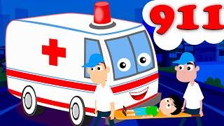 Kids TV Nursery Rhymes - Ambulance Song   Kids Nursery Rhyme Songs   Children Music Videos