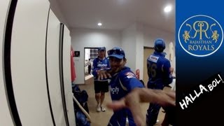 RAJASTHAN ROYALS' DRESSING ROOM CELEBRATIONS: behind-the-scenes with the players after RCB win