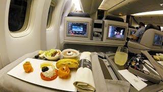 Turkish Airlines B777-300ER Business Class Istanbul- Dubai