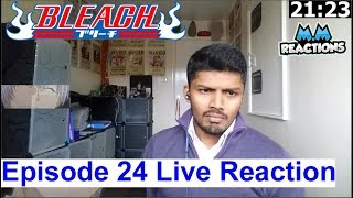 It begins!! - Bleach Anime Episode 24 Live Reaction