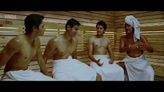 John meets Shreyas and Riteish in Sauna | Housefull 2 | Movie Scene