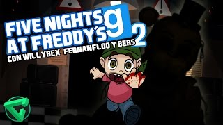FIVE NIGHTS AT FREDDY'S 2 GMOD CON WILLYREX, FERNANFLOO Y BERSGAMER | iTownGamePlay