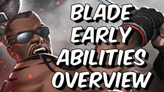 Blade: Early Abilities Overview & Theorycrafting - Marvel Contest Of Champions