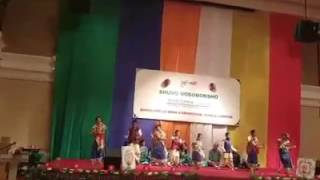 Raisa & Raima Dance, Pohela boishak 2016 Bangladesh High Commission, Kuala Lumpur. DOPTOR