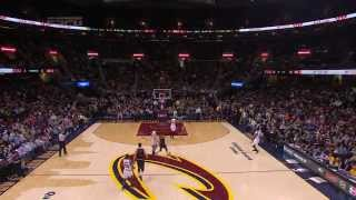 J.R. Smith's Fadeaway Heave from 40 Feet to Beat the Buzzer!