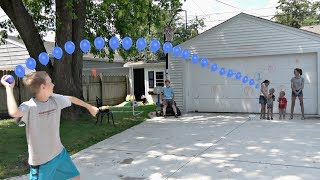 Water Balloon Throwing Challenge! | That