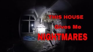 Abandoned FLW mansion Nighttime, Haunted, Omar Gosh, G Team Paranormal, The Fam