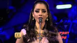 ET بالعربي - بلقيس أول عربية  تغني مع  بوتشيللي