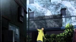 Durarara!! Episode 3 - Shizuo Heiwajima vs Izaya Orihara & The 'Dollars'