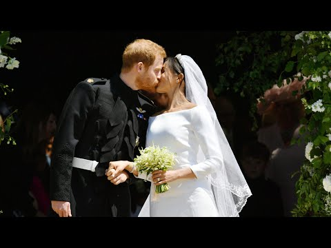 Xxx Mp4 Harry And Meghan S First Kiss As Husband And Wife 3gp Sex