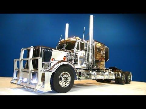 RC ADVENTURES Tamiya 1 14 RC Chrome King Hauler Semi Truck Futaba MFC 01 6 Stretch
