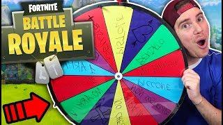 LA RUOTA DELLE CHALLENGE IMPOSSIBILI - Fortnite Battle Royale ITA w IlluminatiCrew
