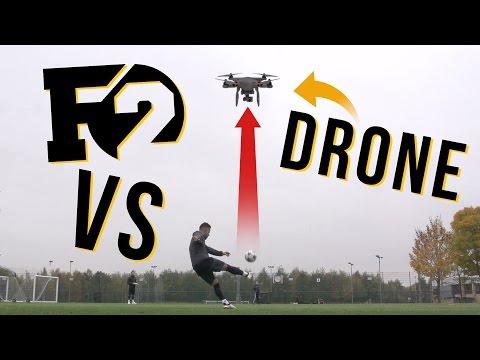 F2 TAKE DOWN A DRONE!