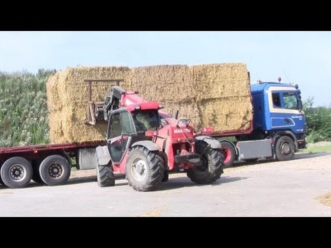 Loading Of The The Big Straw Express