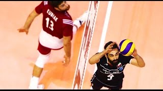 Saeid Marouf el amo del tiempo| Iran Voley| Volleyball en español