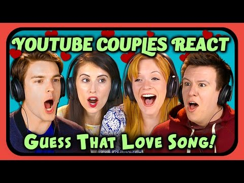 YOUTUBE COUPLES REACT TO GUESS THAT SONG CHALLENGE Love Songs