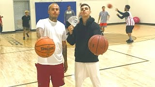 1v1 BASKETBALL GAME 3 POINT CONTEST!!! $1,000 CASH BET!!!