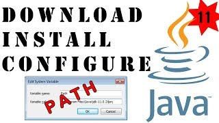 Install and Configure Java 11 Development Kit (JDK) 2019 - Java Programming Tutorials 2019