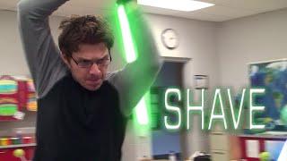 Shave - A Star Wars Lightsaber Battle