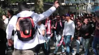 Royston Drenthe en zijn rap voor Feyenoord