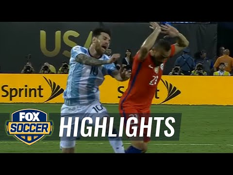 Argentina vs. Chile 2016 Copa America Final Highlights