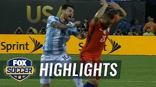 Argentina vs. Chile | 2016 Copa America Final Highlights