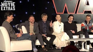 Star Wars: The Last Jedi | Complete Press Conference with cast & director
