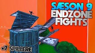 SÆSON 9 ENDZONE FIGHTS!! (+7 SPILLERE!!) - Dansk Fortnite