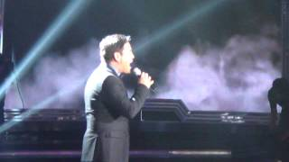 martin nievera with (the standing ovation )THIS IS THE MOMENT at XFPH grand finals night