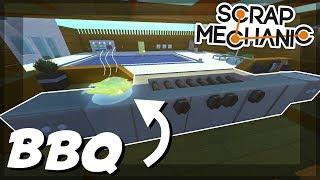 PISTON HOUSE PART 4 - POOL FINAL - Scrap Mechanic Creations! - Episode 92