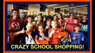 CRAZY SCHOOL SHOPPING!
