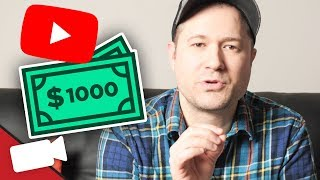 How Many Subs Do You Need To Make $1,000 On YouTube?
