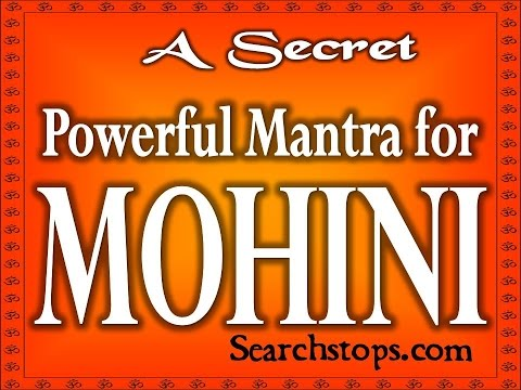 A Secret Mohini Mantra That Can Attract Any Sexy Lady  Tested Mantra