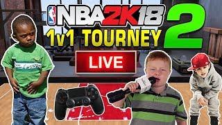 NBA 2K18 LIVE 1 vs 1 Tournament! #2 10/29/2017