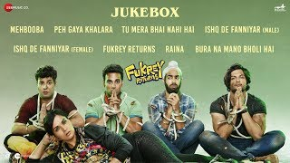 Fukrey Returns - Full Movie Audio Jukebox | Pulkit S, Varun S, Manjot S, Ali F & Richa C