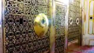 NOOR coming out from Jaali Mubarak Madinah Sharif