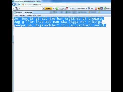 Habbo.se Fusk Databas Läs Beskrivning