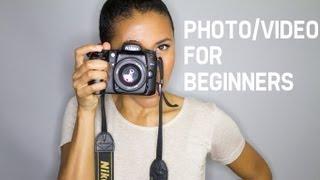 Photo & Video For Beginners | TECH TALK