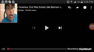 Reaction to Civil war  ended like batman vs. Superman